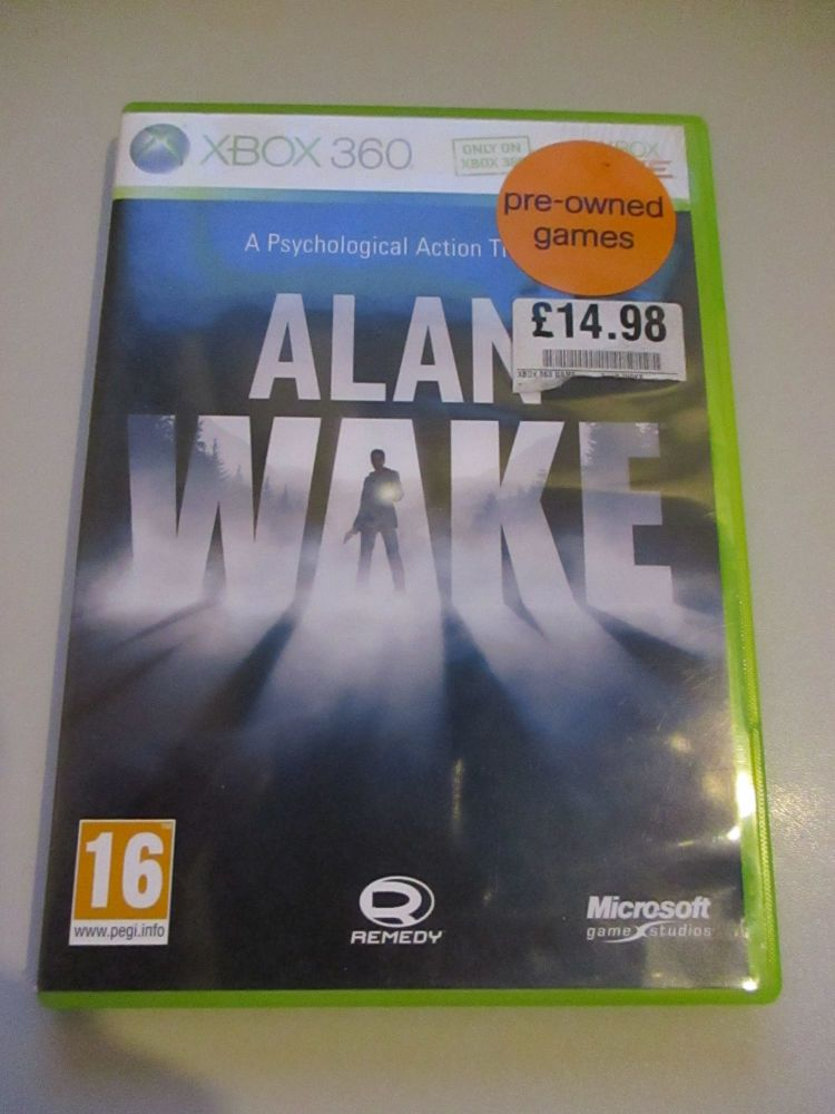 Alan Wake - Xbox 360 Game