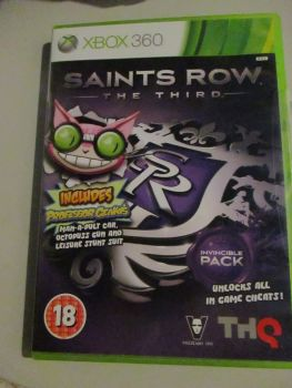 Saints Row The Third - Xbox 360 Game