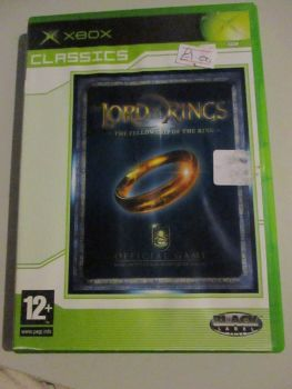 Lord Of The Rings - Fellowship Of The Rings - Xbox Original Game