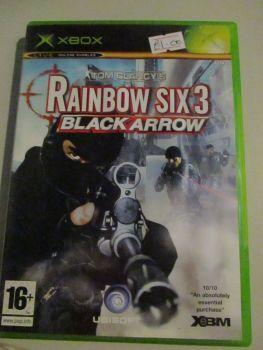 Tom Clancys Rainbow Six Black Arrow - Xbox Original Game