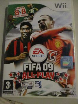 Fifa 09 All Play - Nintendo Wii Game