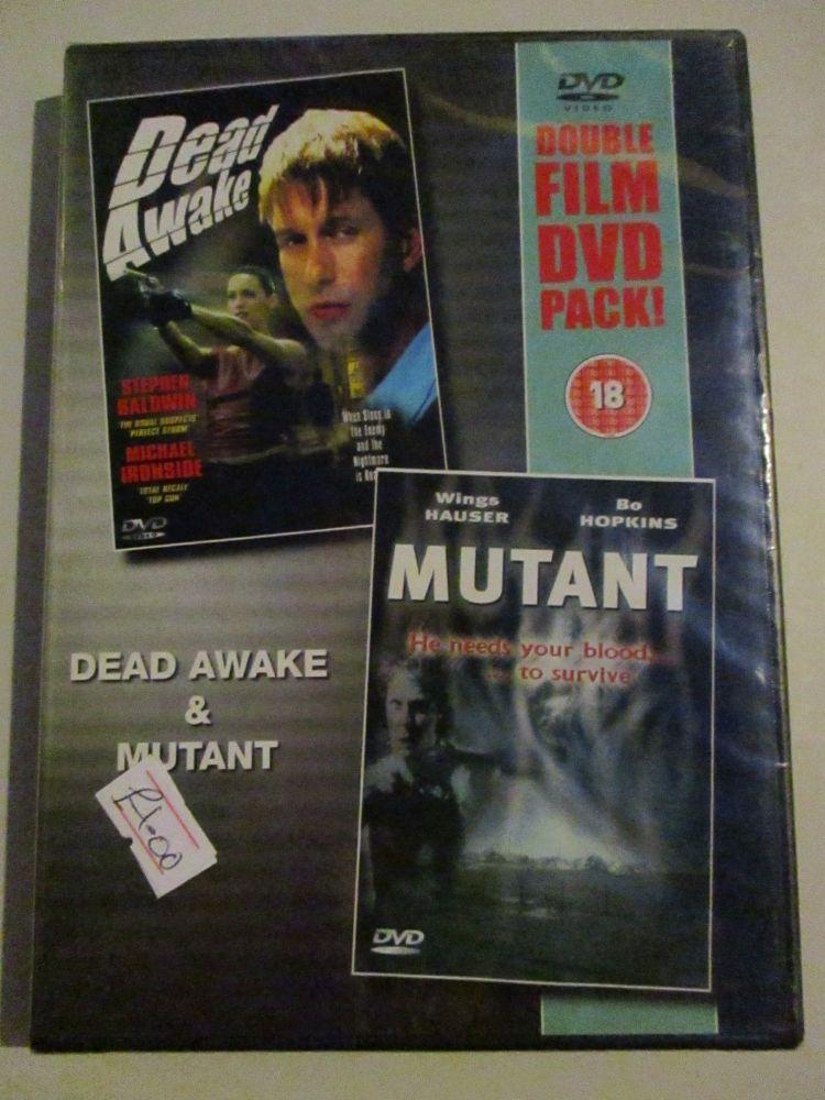 Dead awake / Mutant 2Pk - DVD