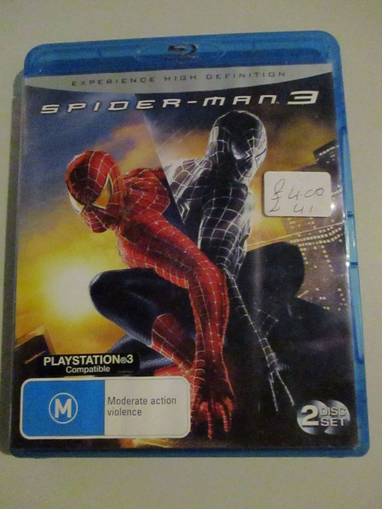 Spiderman 3 - Blu-ray