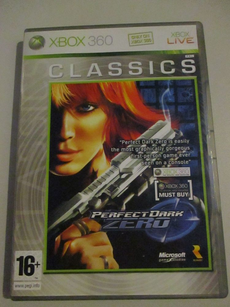 Perfect Dark Zero - Xbox 360 Game