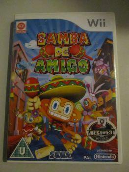 Samba De Amigo - Nintendo Wii Game