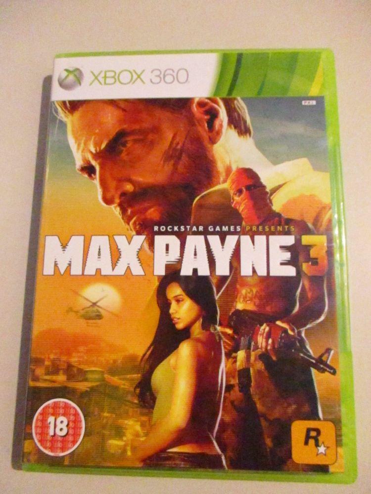 Max Payne 3 - Xbox 360 Game