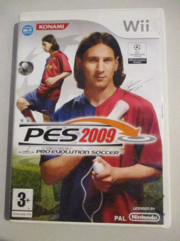 PES 2009 Pro Evolution Soccer - Nintendo Wii Game