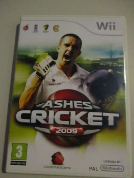 Ashes Cricket 2009 - Nintendo Wii Game
