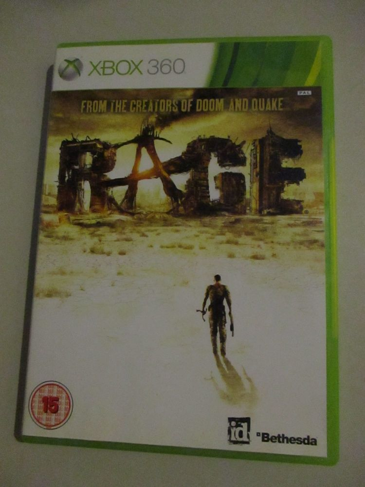 Rage - Xbox 360 Game