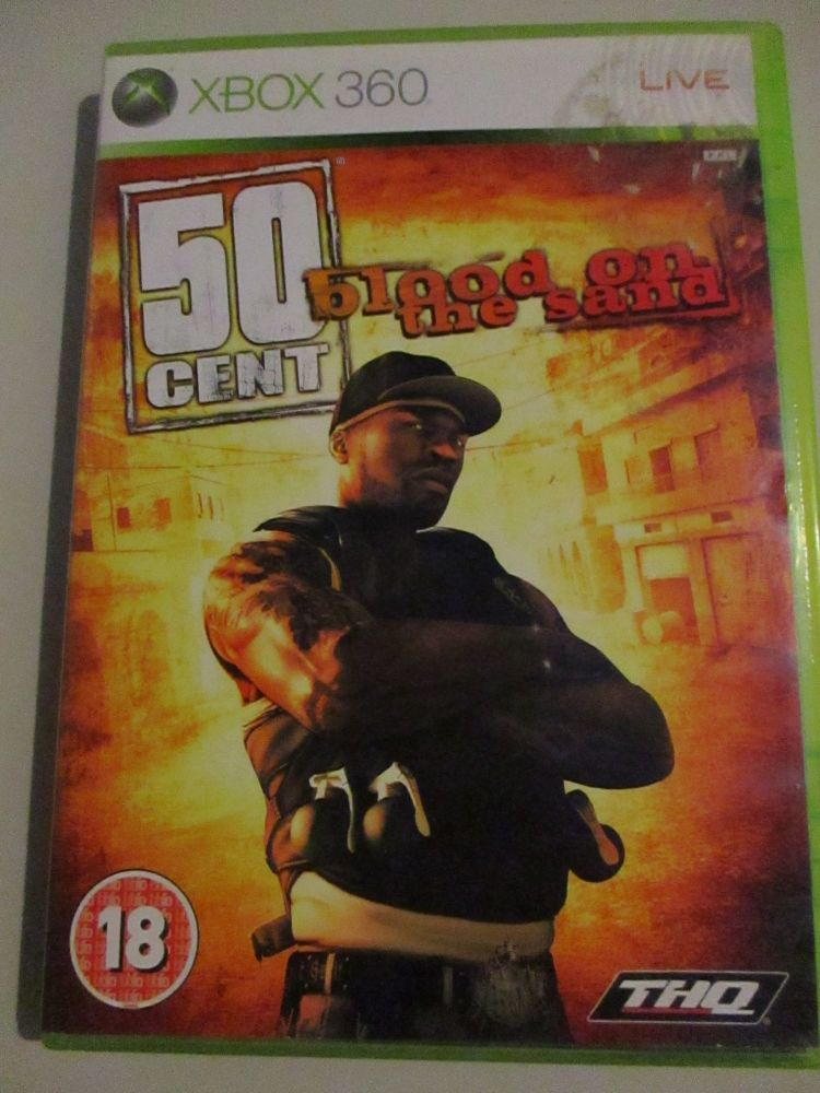 50 Cent Blood On The Sand - Xbox 360 Game