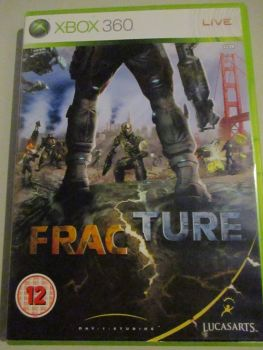Fracture - Xbox 360 Game