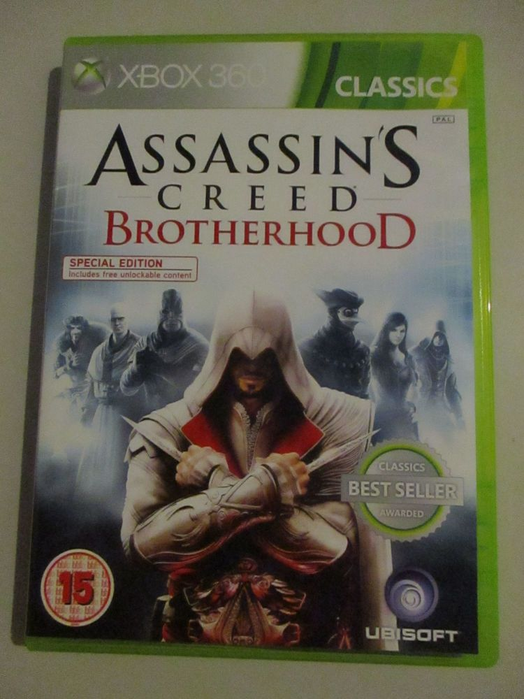 Assassins Creed Brotherhood - Xbox 360 Game