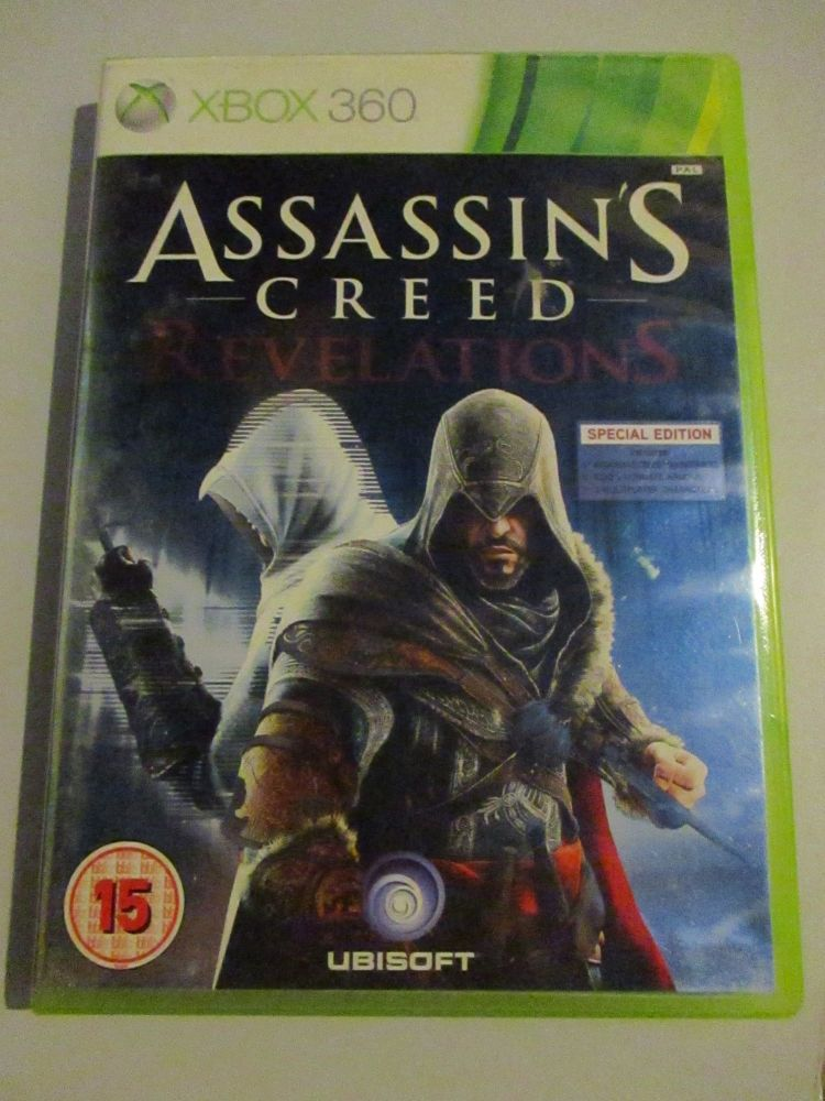 Assassins Creed Revelations - Xbox 360 Game