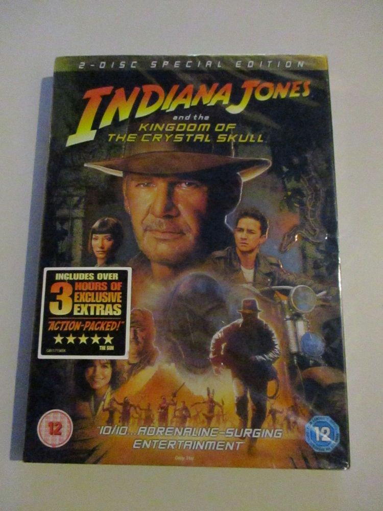 Indiana Jones And The Kingdom Of The Crystal Skull 2 Disc Special Edition - DVD
