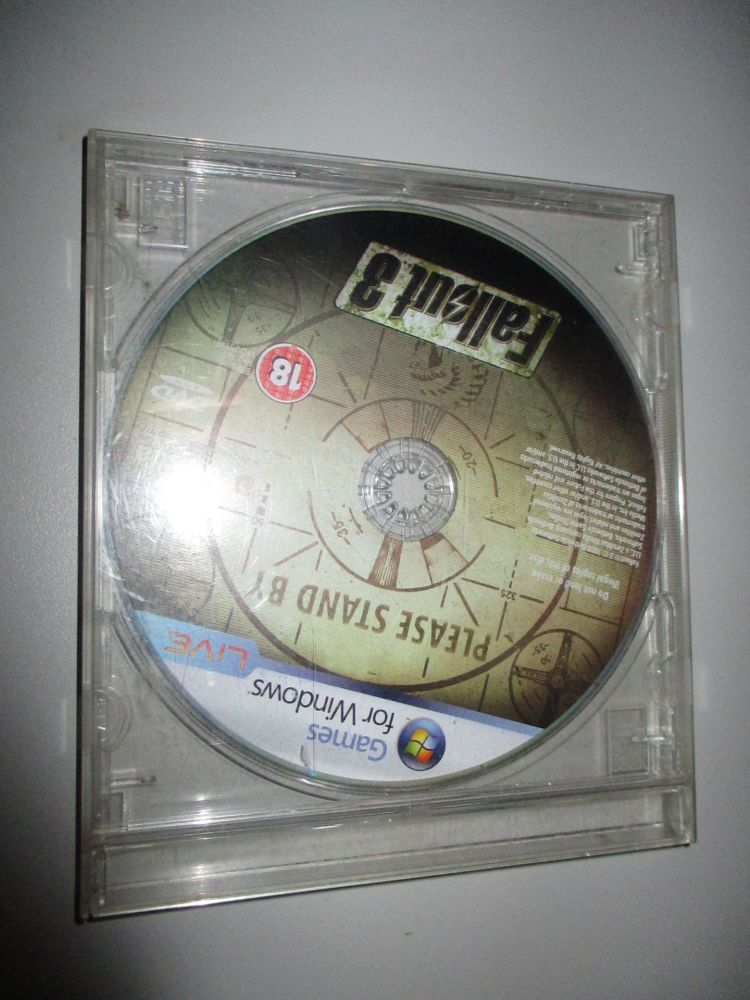 Fallout 3 - PC DVD Game
