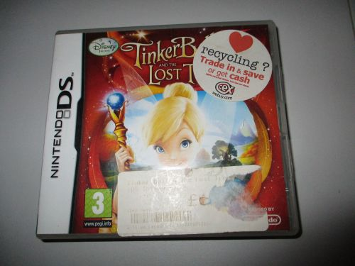 Tinkerbell And The Lost Treasure - Nintendo Wii Game