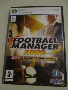 Football Manager 2009 - PC DVD Game