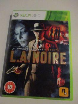 L.A Noire - Xbox 360 Game
