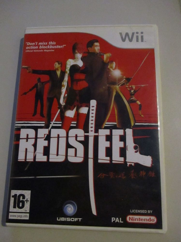 Red Steel - Nintendo Wii Game