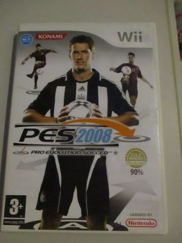 PES 2008 - Nintendo Wii Game