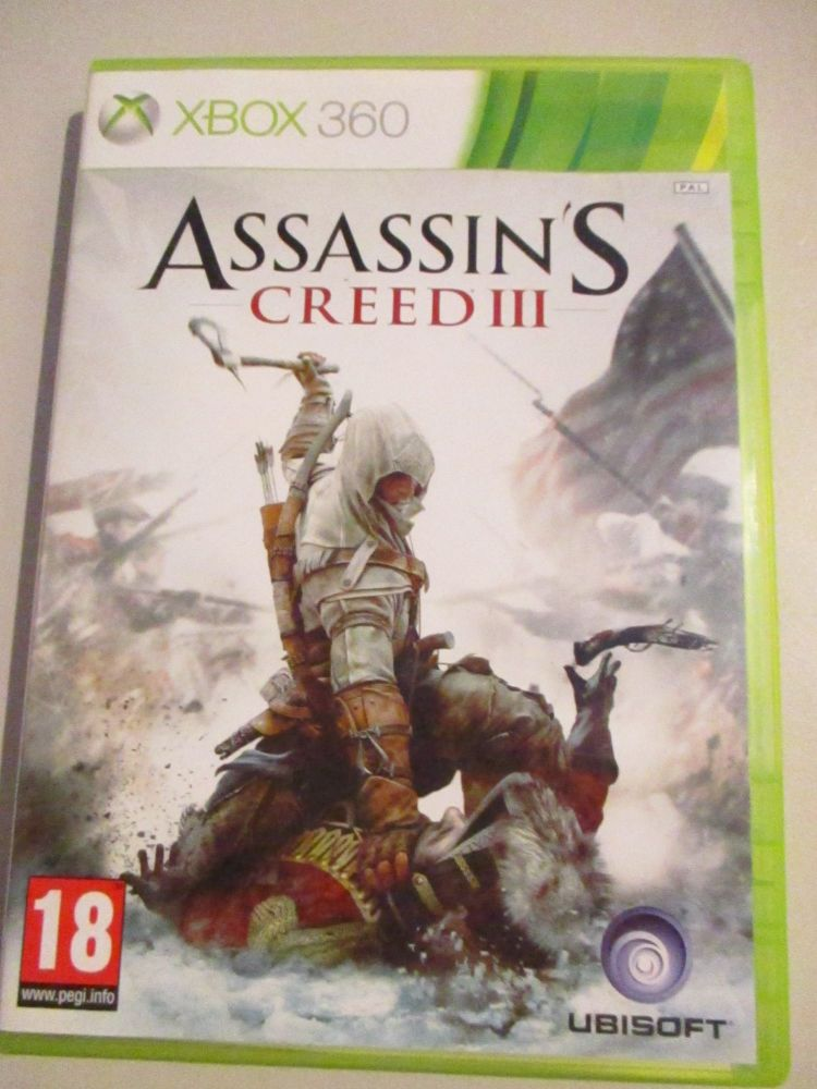 Assassins Creed 3 - Xbox 360 Game