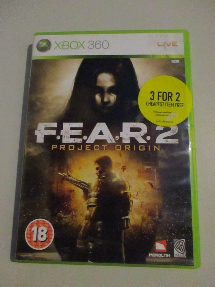 Fear 2 Project Origin - Xbox 360 Game