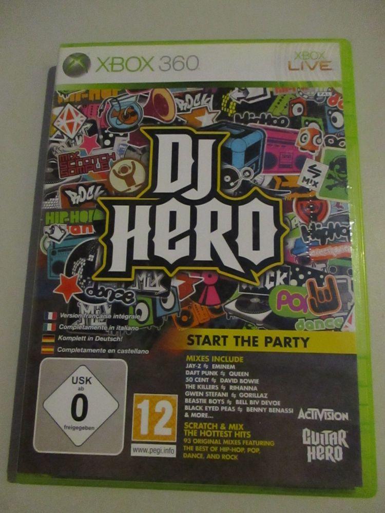 DJ Hero - Xbox 360 Game