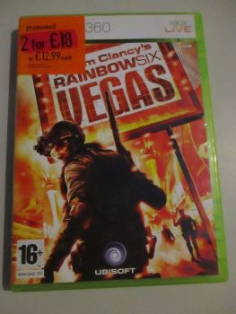 Tom Clancys Rainbow Six Vegas - Xbox 360 Game