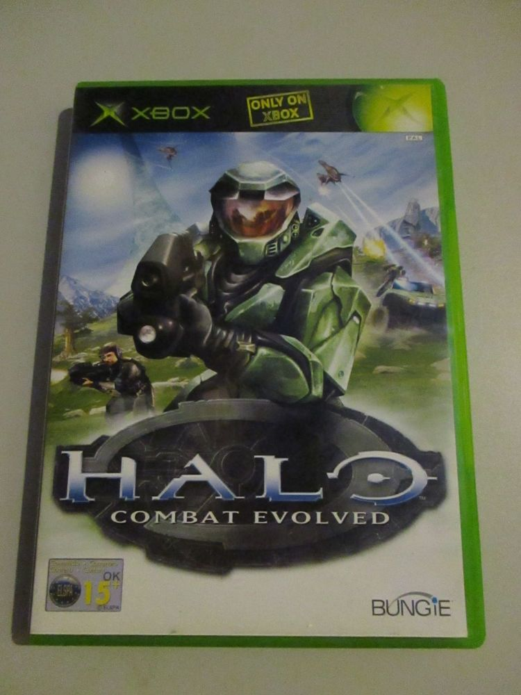 Halo Combat Evolved - Xbox Original Game