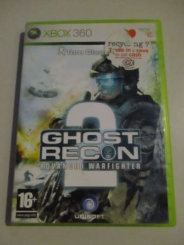 Ghost Recon Advanced Warfighter 2 - Xbox 360 Game