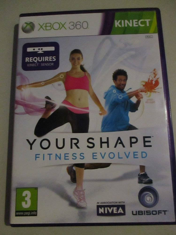 Your Shape Fitness Evolved - Xbox 360 Game