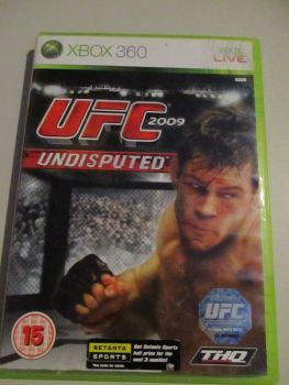 UFC 2009 Undisputed - Xbox 360 Game