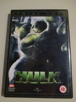 Hulk - Ex Rental - DVD