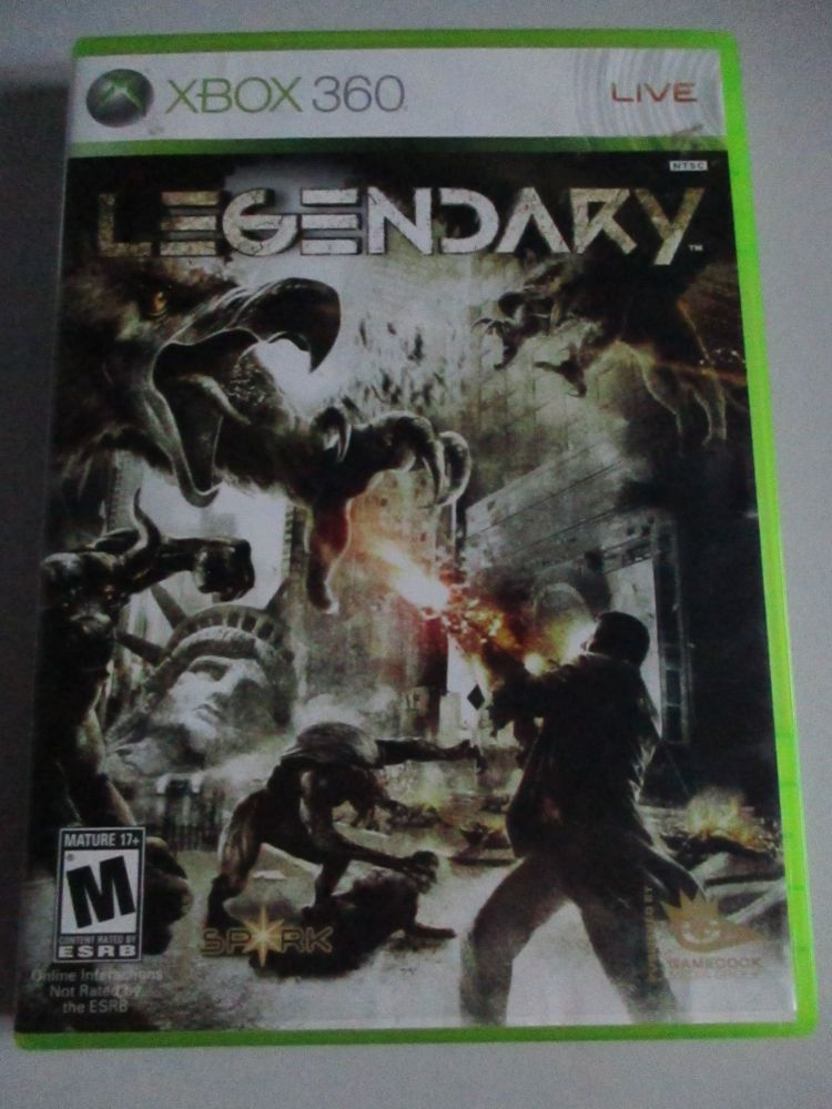Legendary - Xbox 360 Game
