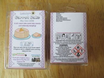 Carrot Cake Scented Soy Wax Melts Pack