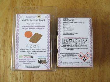 Chocolate Orange Scented Soy Wax Melts Pack