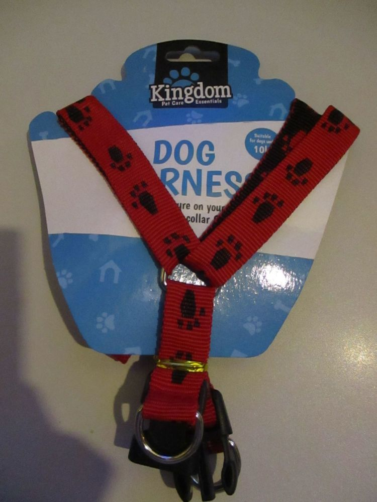 10Kg Red Dog Harness - Kingdom
