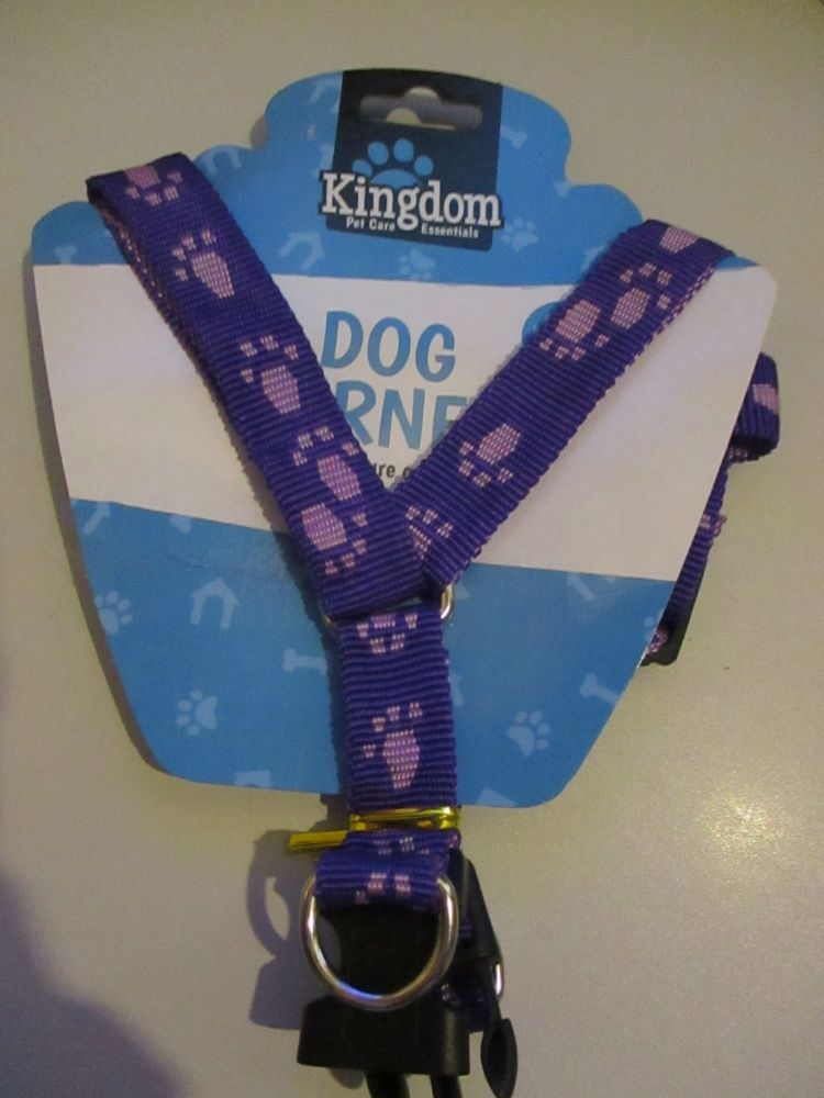 10Kg Purple Dog Harness - Kingdom