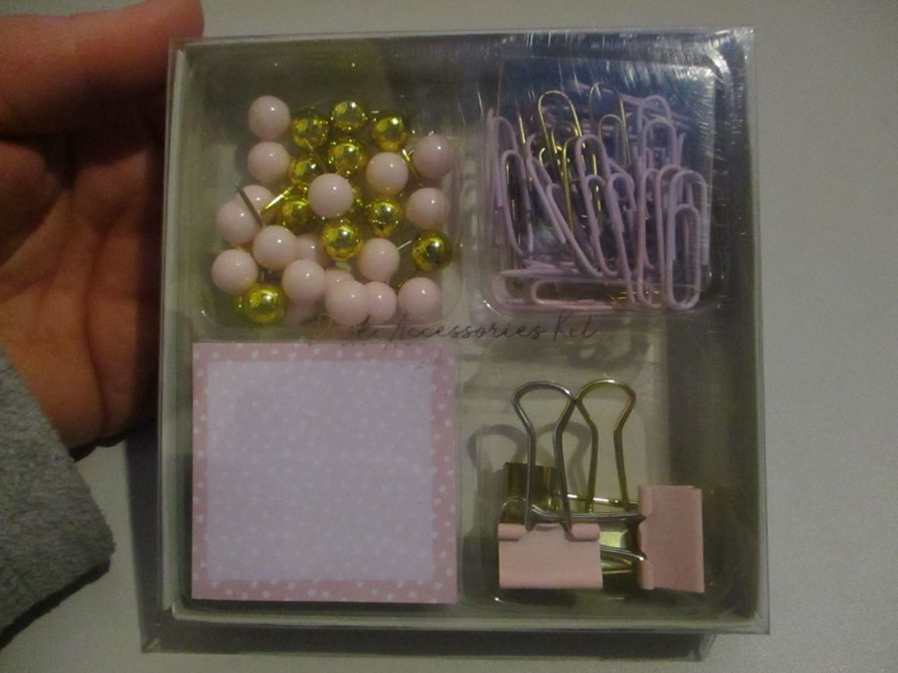 Pink - Desk Accessories Kit