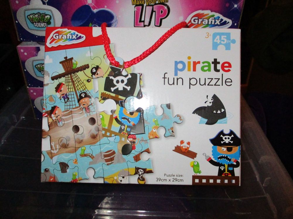 45pc Pirate Fun Jigsaw Puzzle - Grafix