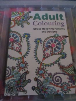 Green Twirly Cover - Adult Colouring - 24pg Colouring Book