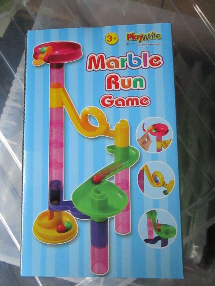 Mini Plastic Marble Run Game - Playwrite