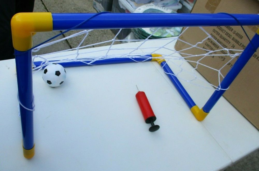 Mini Football Goal & Play Set