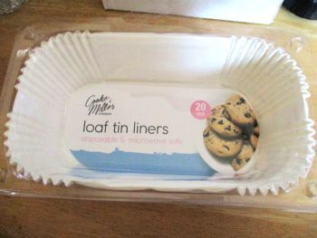 Loaf Tin Liners - 20pk - Cooke & Miller Kitchenware