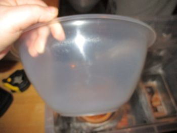27cm Plastic Clear Mixing Bowl
