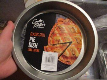 Classic Steel Pie Dish - Cooke & Miller