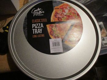 Classic Steel Pizza Tray Cooke & Miller