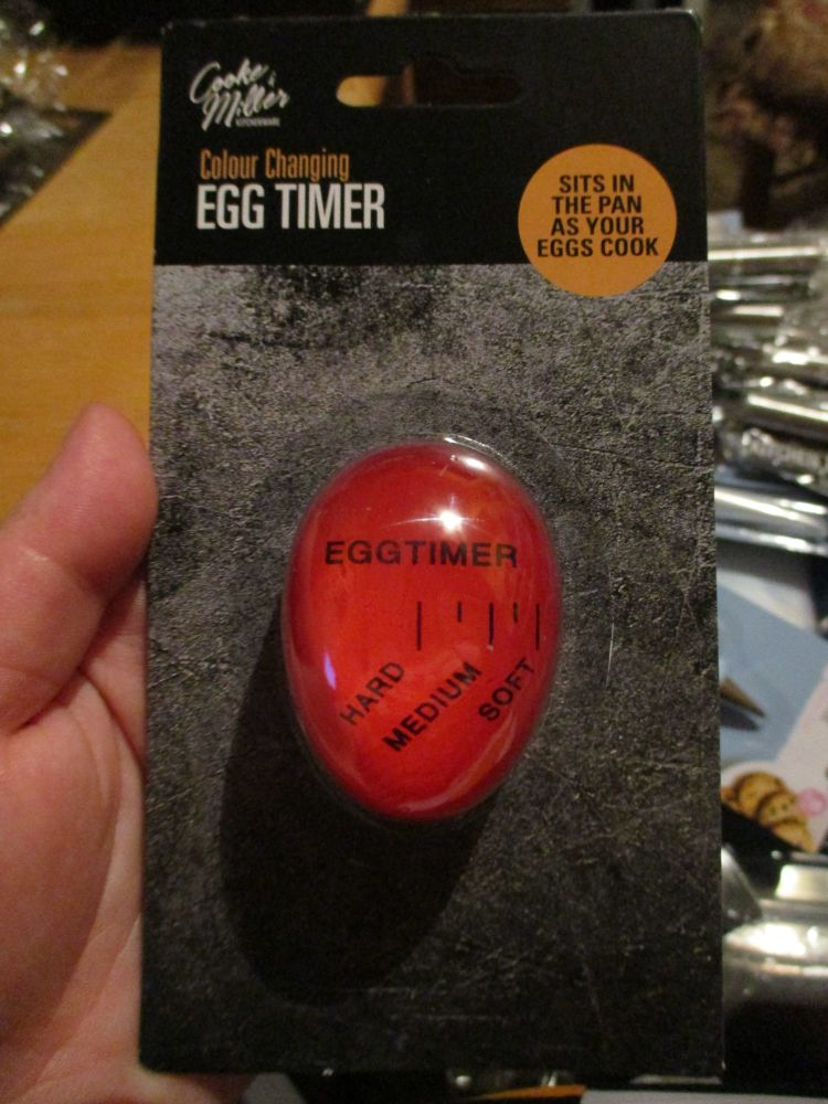 Colour Changing Egg Timer - Cooke & Miller
