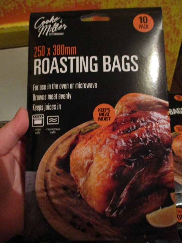 10 pack Roasting Bags Cooke & Miller