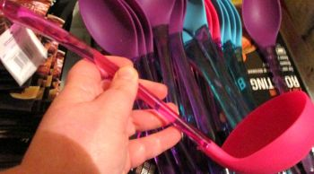 Pink Silicone & Plastic Ladle - Cooke & Miller